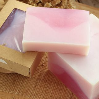 Delicate Lilac whetstone 1kg - handmade soap with lilac aroma