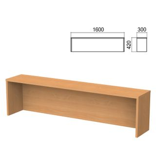 Argo table add-on, 1600 mm wide, aroso pear