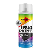 Paints and primers, aerosol
