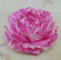 Hair clip brooch rose - pink mix milotto