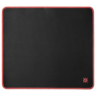 DEFENDER / Gaming mouse pad Black XXL, fabric + rubber, 400x355x3 mm, black