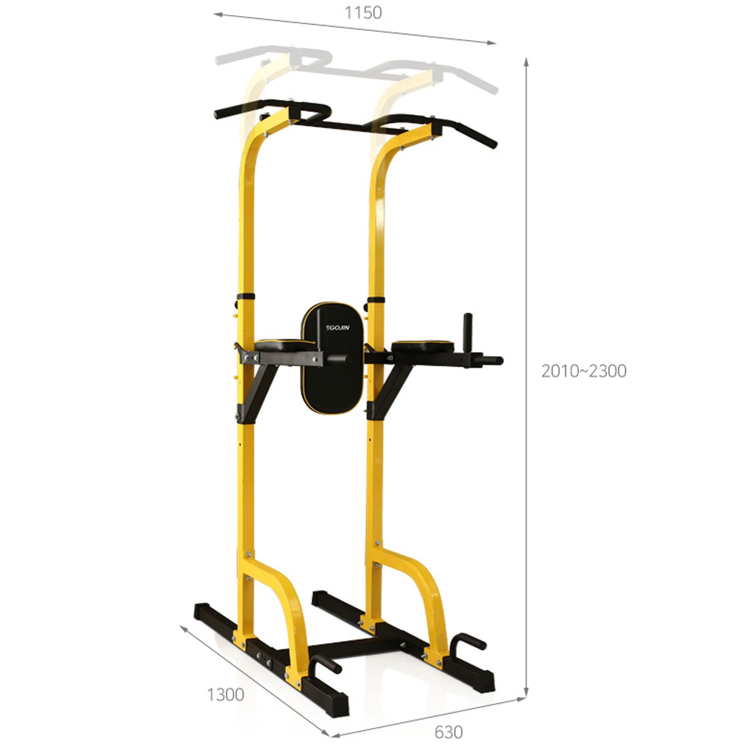MB Barbell / Pull-up bar DFC Power Tower G009C