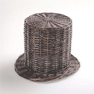 Set of decorative woven hat