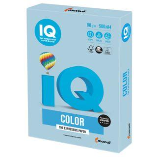 IQ COLOR / A4 paper, 80 g / m2, 500 sheets, pastel, ice blue