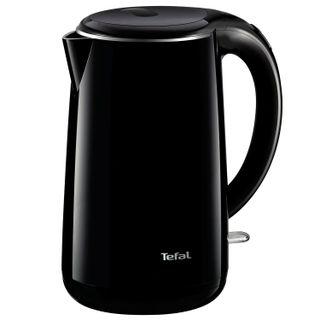 Kettle TEFAL KO260830, 1.7 litres, 2150 w, closed heating element, plastic, metal, black