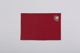 LA`AL Textiles/ Настольная дорожка - бордо ©, подтарельники, 6 штук