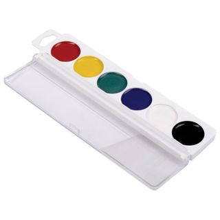 Watercolor PYTHAGORAS MEDOK 6 colors no brush plastic box