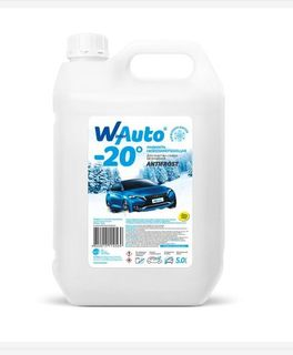 Liquid low-freezing, for cleaning the car glass - Winter-auto, 5 l