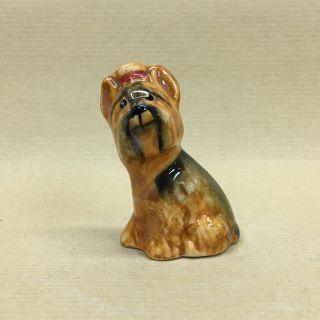 "Porcelain figurine ""Yorkshire Terrier"""