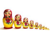 Annie - traditional matryoshka, 10 dolls
