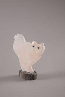"Souvenir ""Cat"", hand-carved stone"