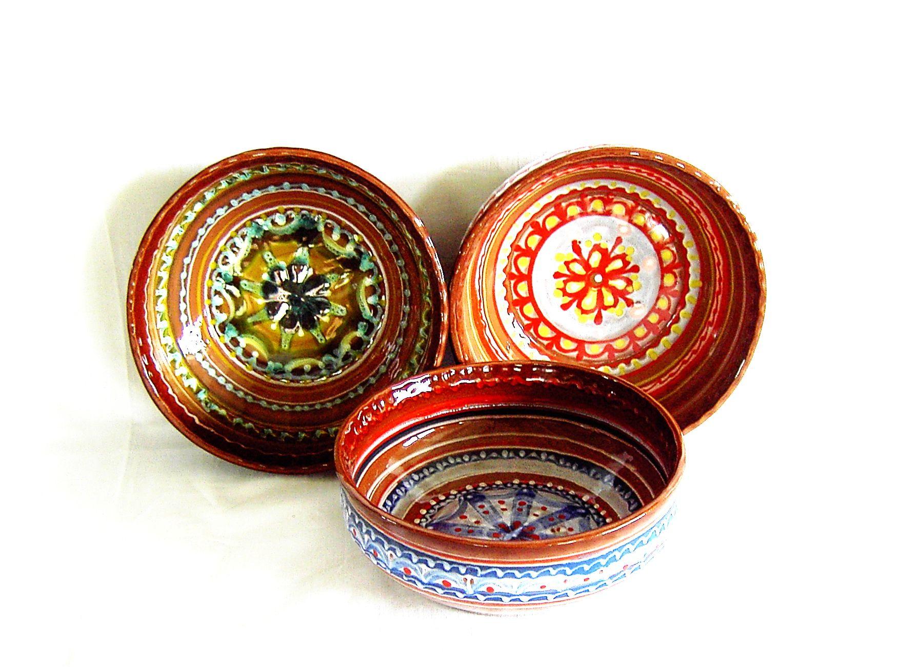 "Tarusa artist / Salad bowl ""Dinner"", 1,75l"