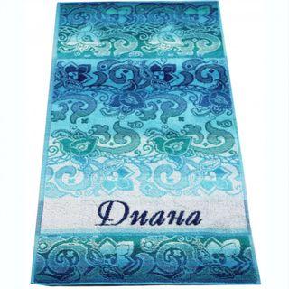 "Terry bath towel named ""Diana"" size 100 * 50 jacquard"