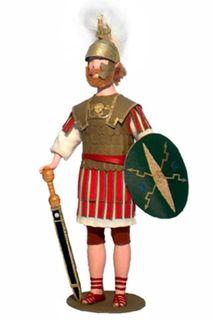 Decurion. 4-6 century BC - the Roman Empire. Doll gift