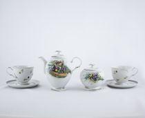 Tea set based on paintings by artist Yaroshenko Author's modeling