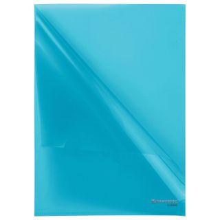 Folder area BRAUBERG, blue, 0.10 mm