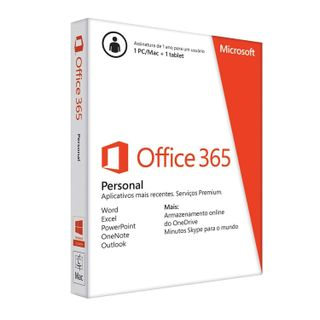 MICROSOFT / Office 365 Personal software, 1 PC, 1 year