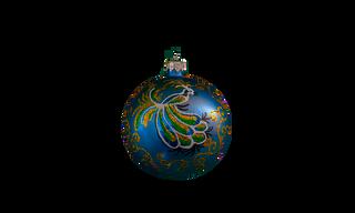 The Peacock Christmas Ball