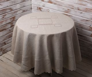 Tablecloth round pattern 22 / 44-18