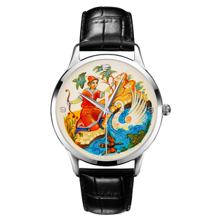 "Palekh watch ""Swan №44"