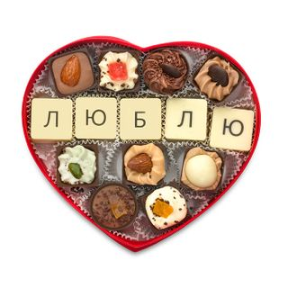 "Chocolates handmade ""Love"""