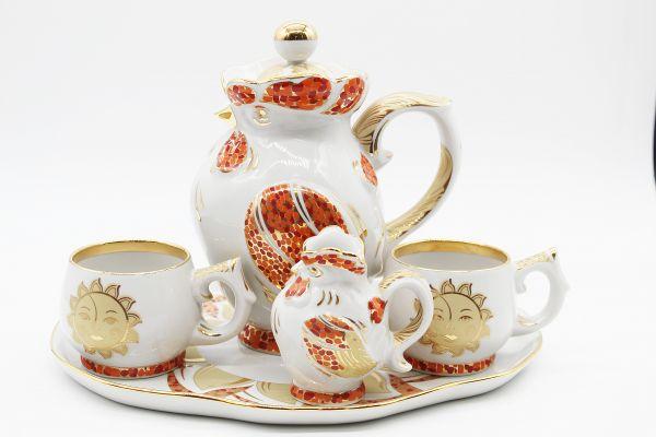 Dulevo porcelain / Dinnerware set 5 pcs. Morning Mosaic