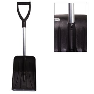 BERCHOUSE / Universal car shovel, plastic, 25x34 cm, height 95 cm, with an aluminum tip