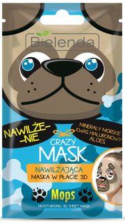Moisturizing mask Pug MASK BIELENDA CRAZY