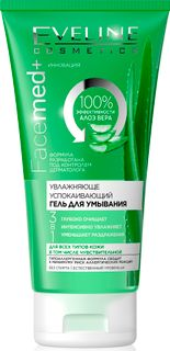 Moisturizing & soothing gel cleanser series facemed+, Eveline, 150 ml