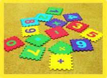 Developing soft mat-puzzle 'Mathematics'