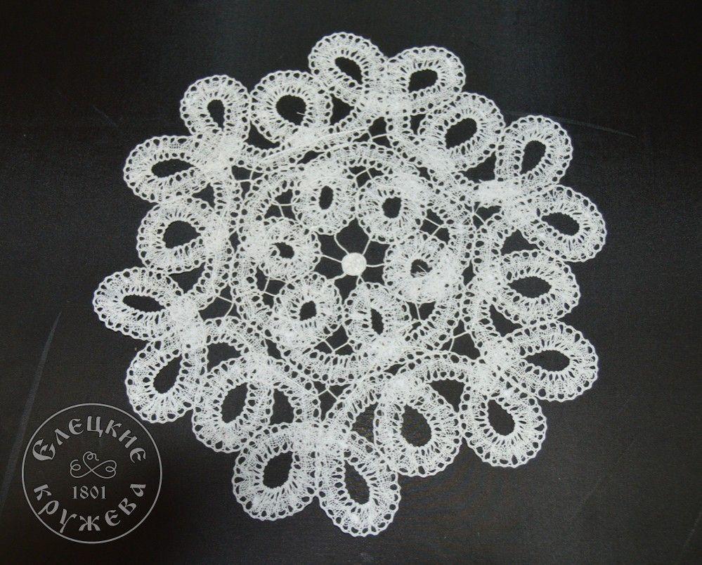 Yelets lace / Lace napkin С2225