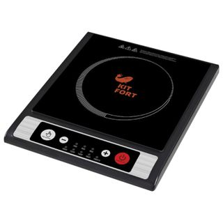 Tile electric induction KITFORT KT-107, 1800 W, 1 ring, 8 modes, button control, black