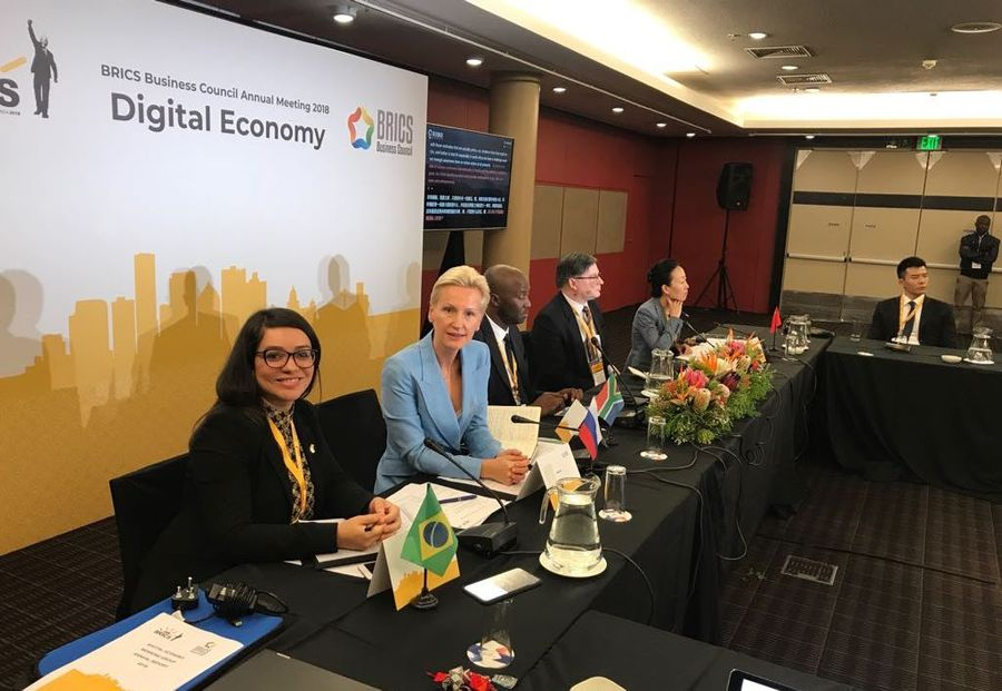 Global Rus Trade presented Russia at a meeting of the working group on the digital economy of the BRICS Business Council
