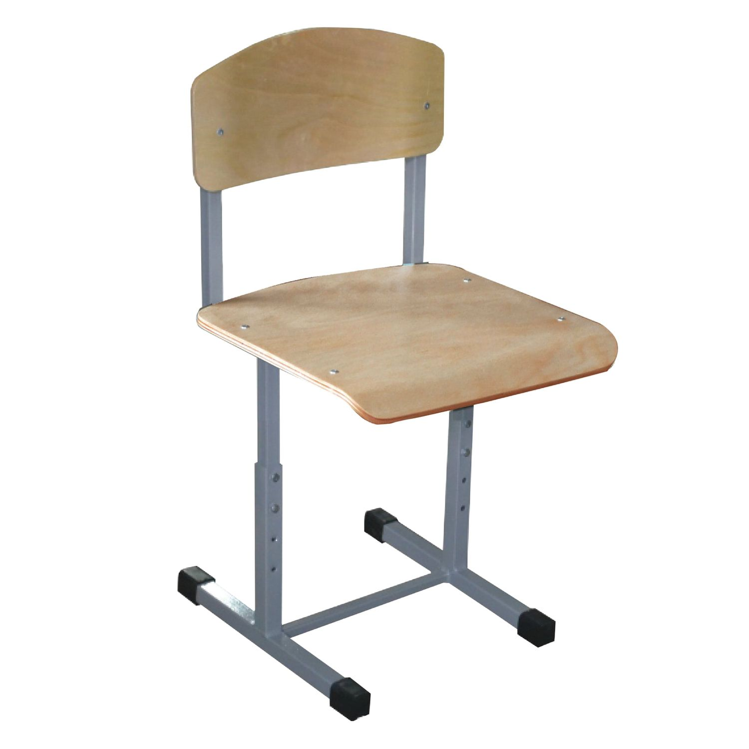 Budget chair, 585-665 x340 x430 mm, height 2-4, grey frame