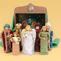 "Christmas nativity scene ""Wonderful evening"" role-playing game"