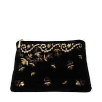 Velvet cosmetic bag 'Nefertiti'