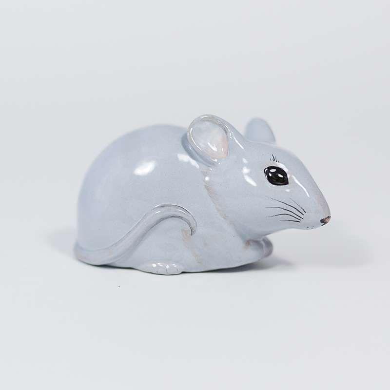 "Yaroslavl majolica / Pendant ""Gray mouse"""