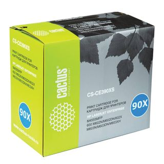 Toner Cartridge CACTUS (CS-CE390X) for HP LaserJet M602n / M603n, page yield 24000