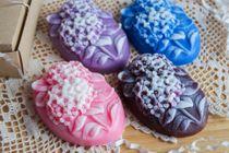 Handmade soap Hydrangea mix colors and fragrances