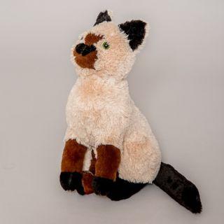 SIAMA CAT - children's soft toy.