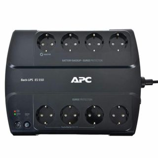 APC / Back-UPS ES BE550G-RS 550 VA (330 W) 8 CEE 7 Sockets Black