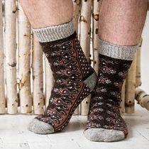 Socks for men woolen N6R153-1