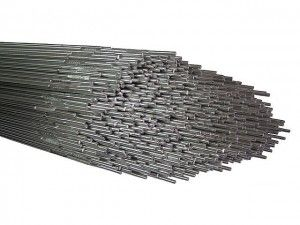 Electrodes for welding high-alloy steels OzL-17U