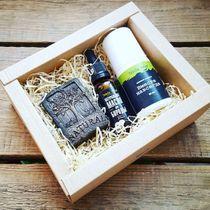 Men's Gift Set: Face Soap, Beard Oil, Deodorant