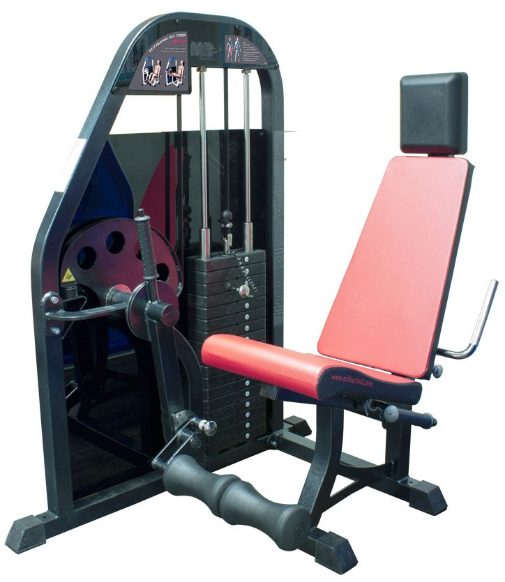 MB Barbell / Seated Leg Extension (Weight Stack)