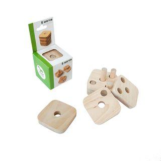 Designer educational wooden