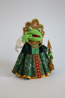 The frog Princess. Doll gift