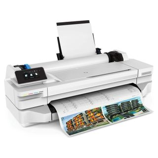 HP Designjet T125 24 (5ZY57A) A1 / A3 + Plotter, NIC, Wi-Fi, no stand