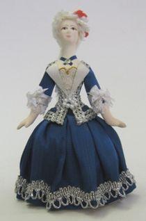Doll gift. Doll gift. Infanta mid-18th century.