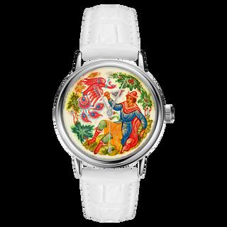 """Palekh watch """"Firebird №26"""